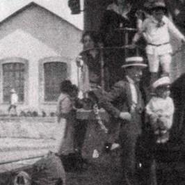 La Estación del Ferrocarril de Tehuacán Puebla 1880