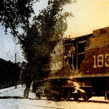 El Ferrocarril Mexicano del Sur en Tehuacán 1890