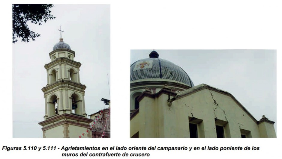 sismo de 1999 tehuacan daños en la catedral