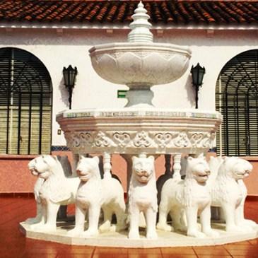La Fuente de los Leones del Hotel México