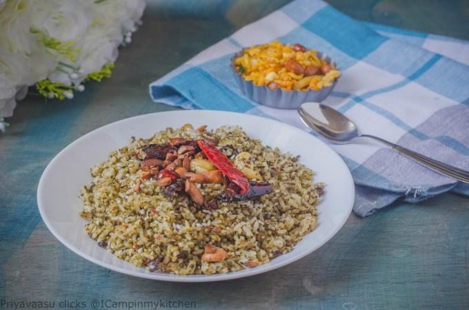 Mixed rice recipe
