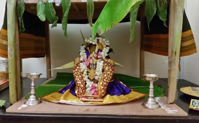 varalakshmi poojai decorations