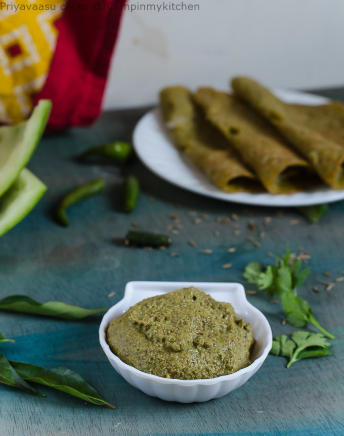 curry leaves thogayal