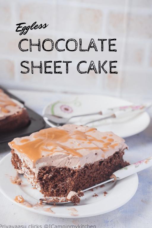 Chocolate Sheet cake Pin