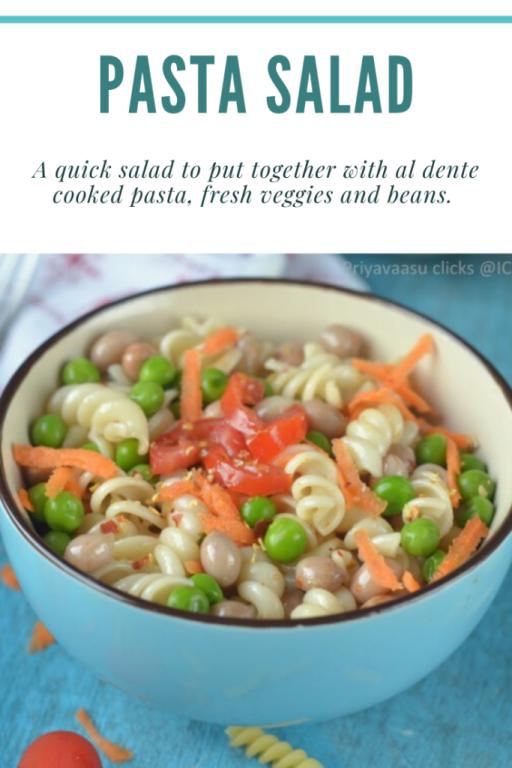 Pasta in salads