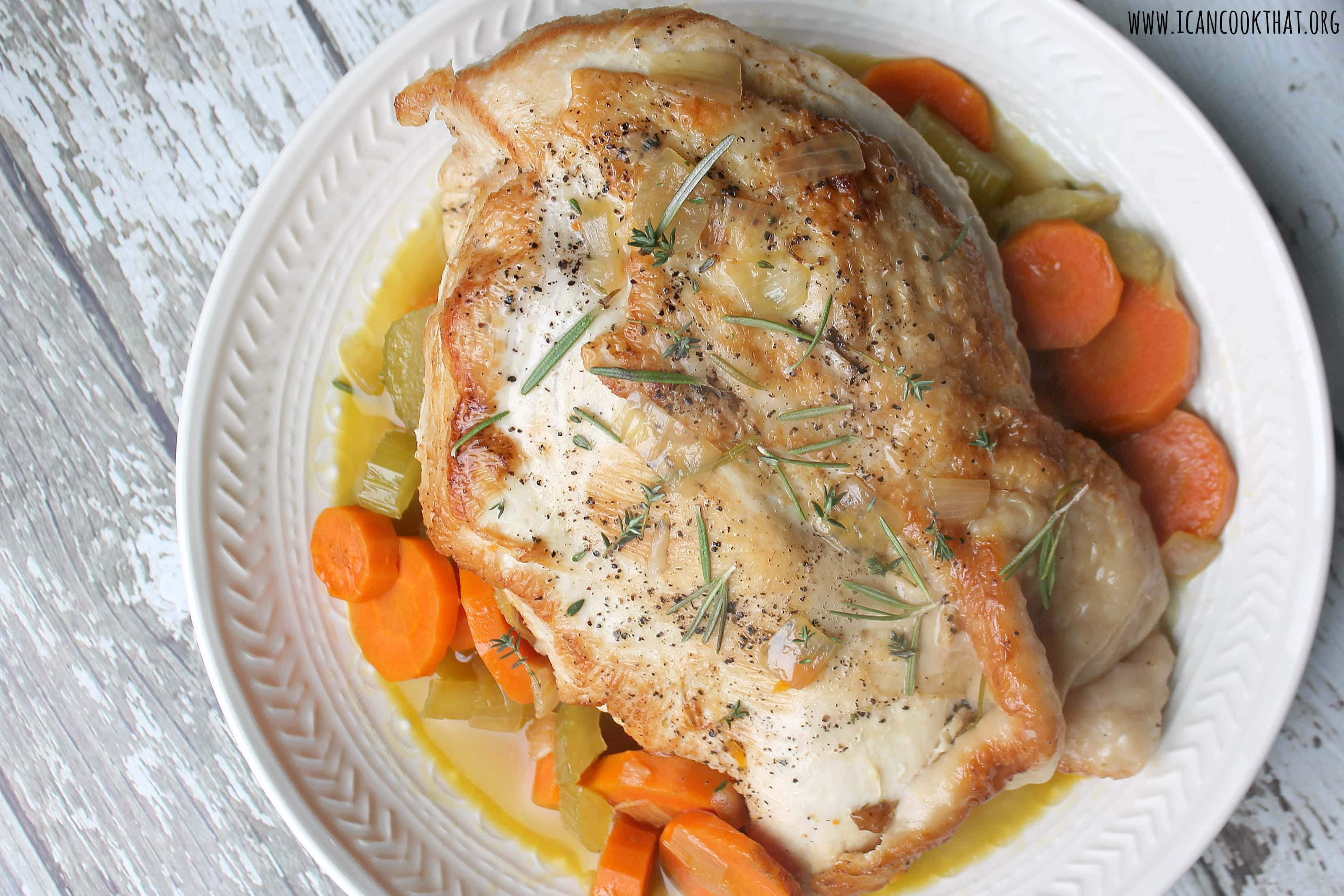 Herb Infused Turkey Breast