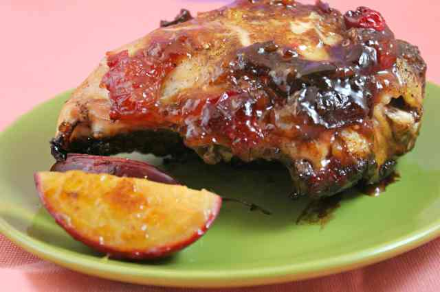 Plum Sweet and Spicy Chicken