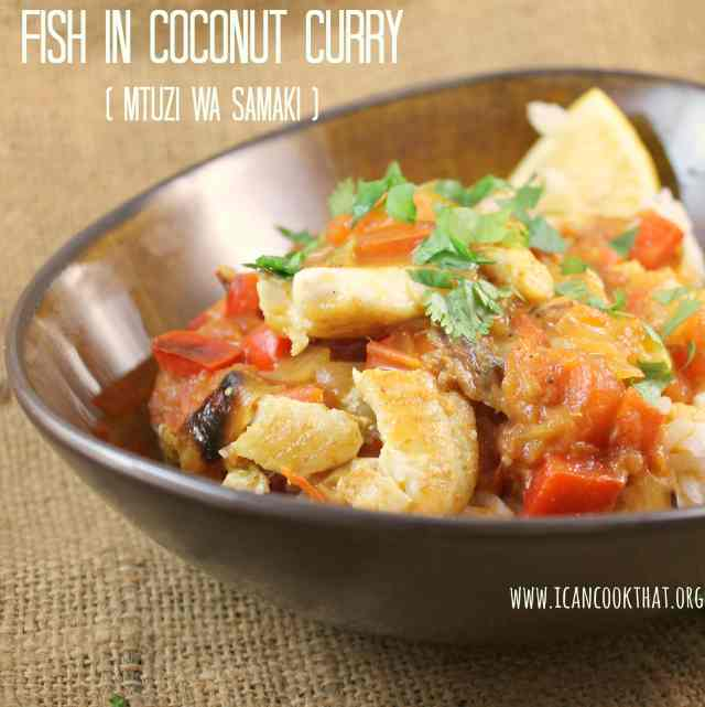 Fish in Coconut Curry