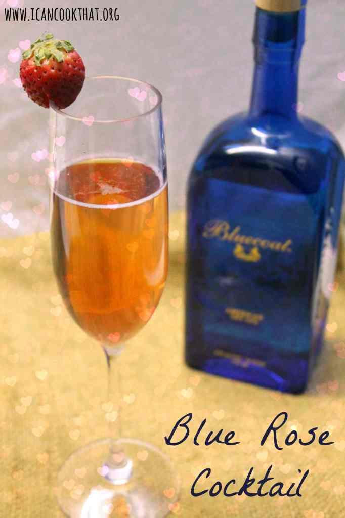 Blue Rose Cocktail