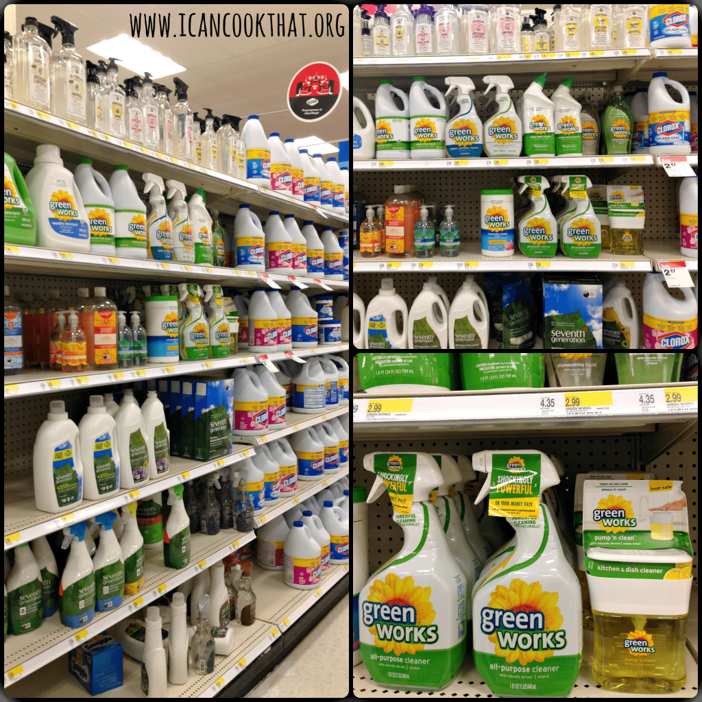 Green Works Target #NaturallyClean #ad