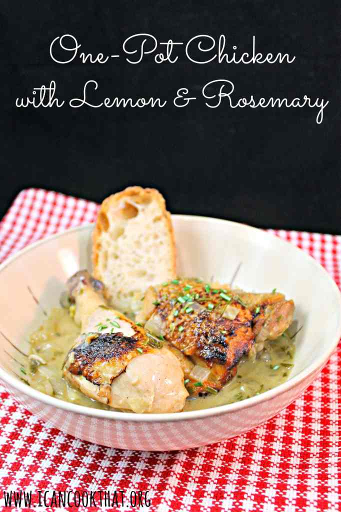 One-Pot Chicken with Lemon & Rosemary