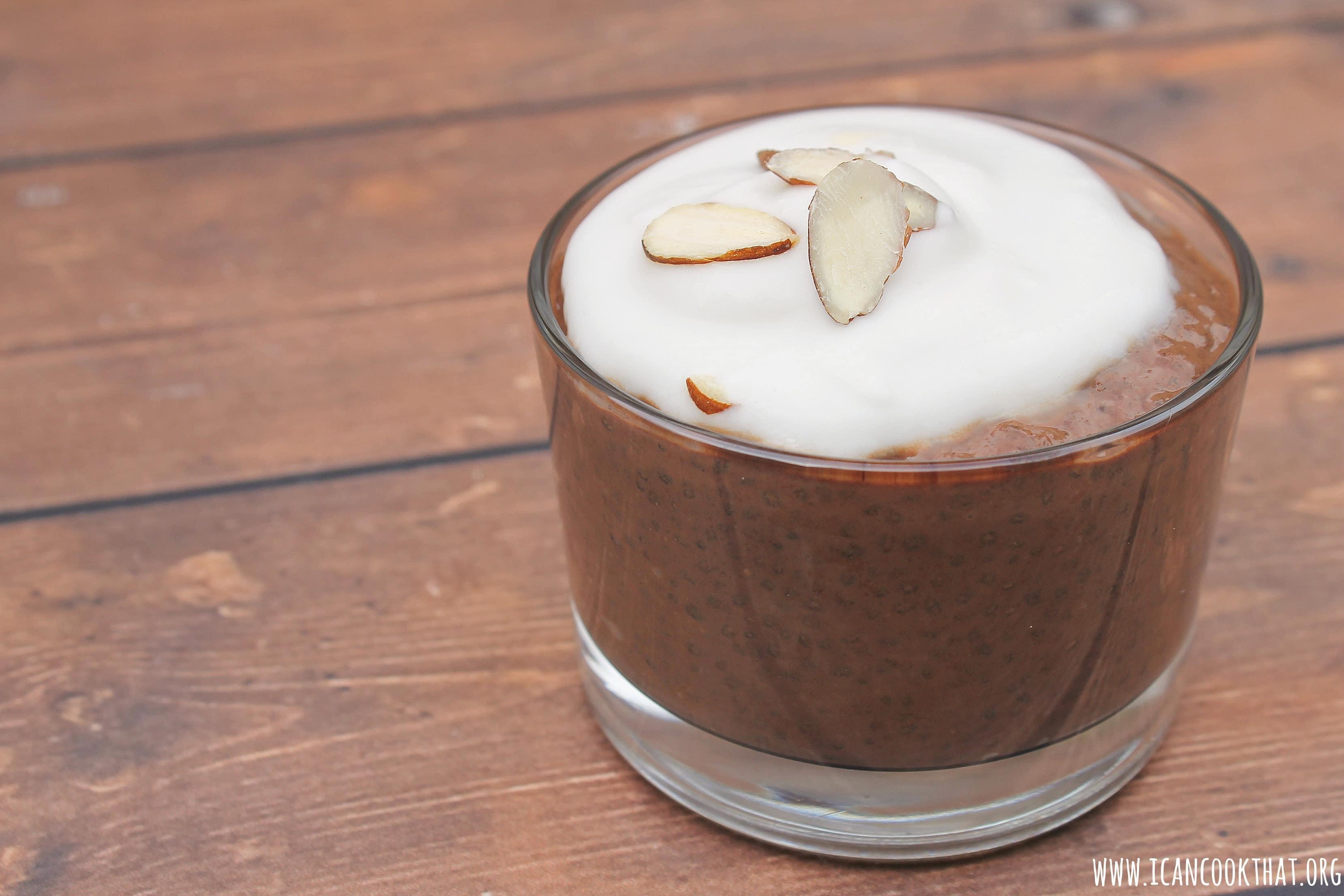 Overnight Chocolate Chia Pudding