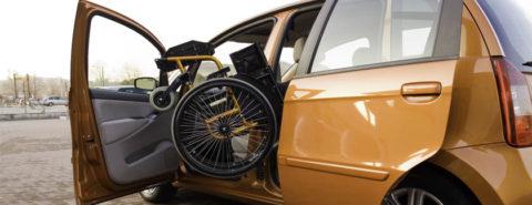 Βραχίονας φόρτωσης αναπηρικού αμαξιδίου