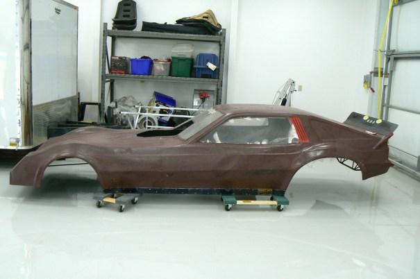 drag racing shell