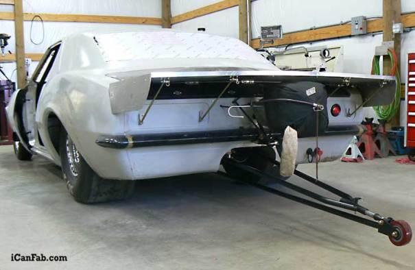 Built to run Sportsman Class or Bracket Racing