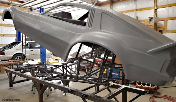 Nostalgia Funny Car S&W Chassis Final Stages - Metal Fabrication