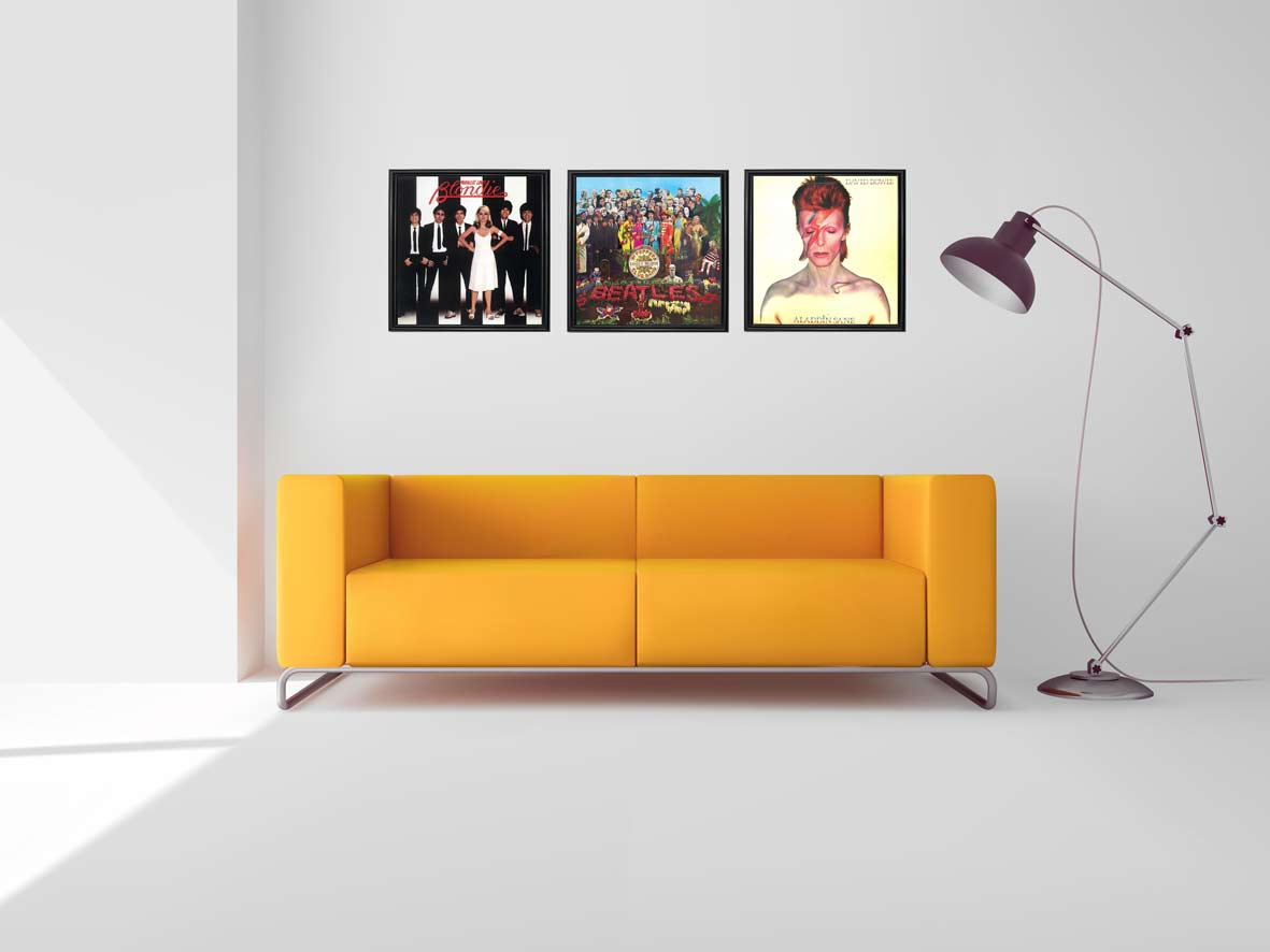 Vinyl Record Frames From Icanframe