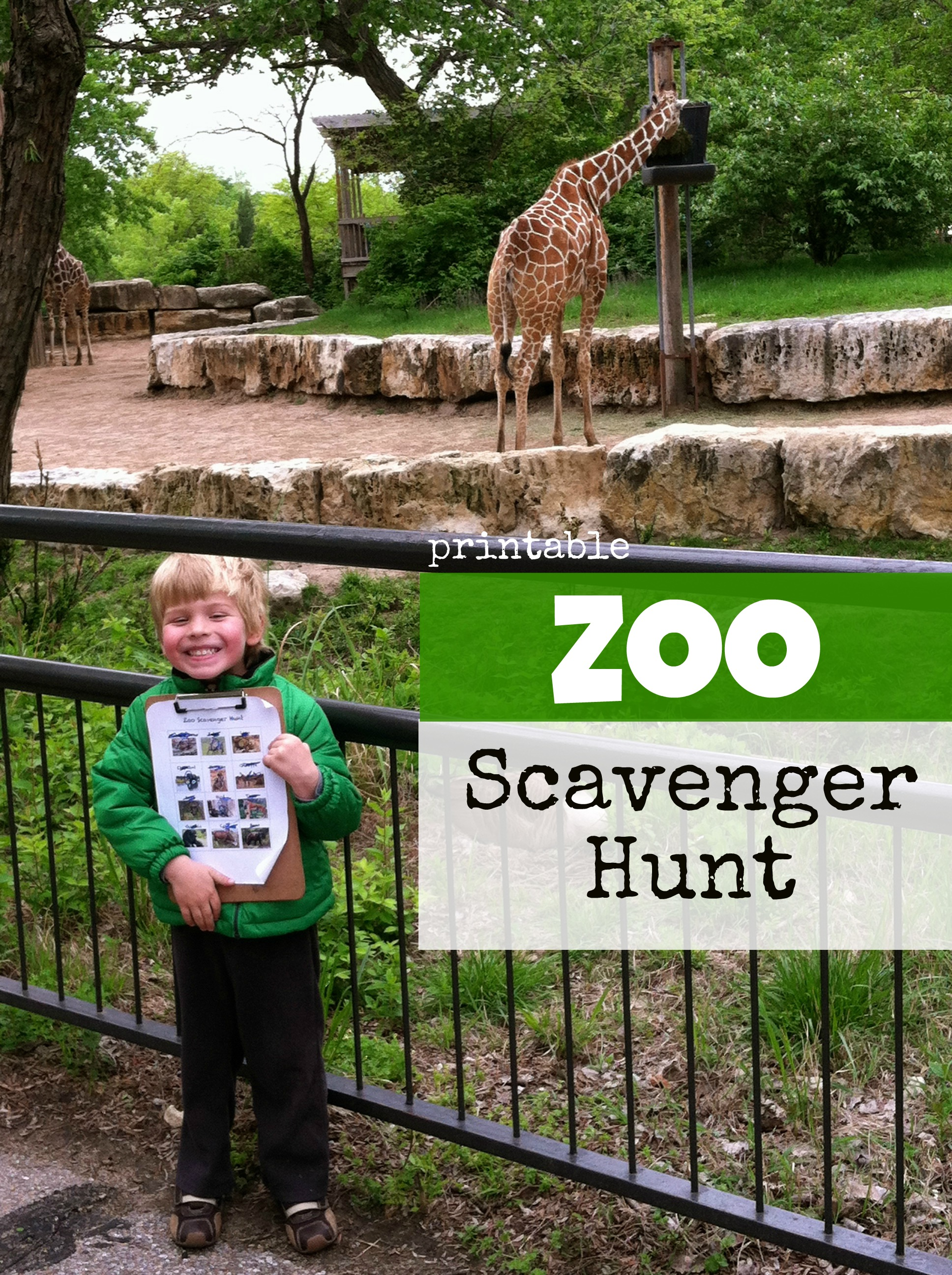 Zoo Scavenger Hunt Your Kids Will Love