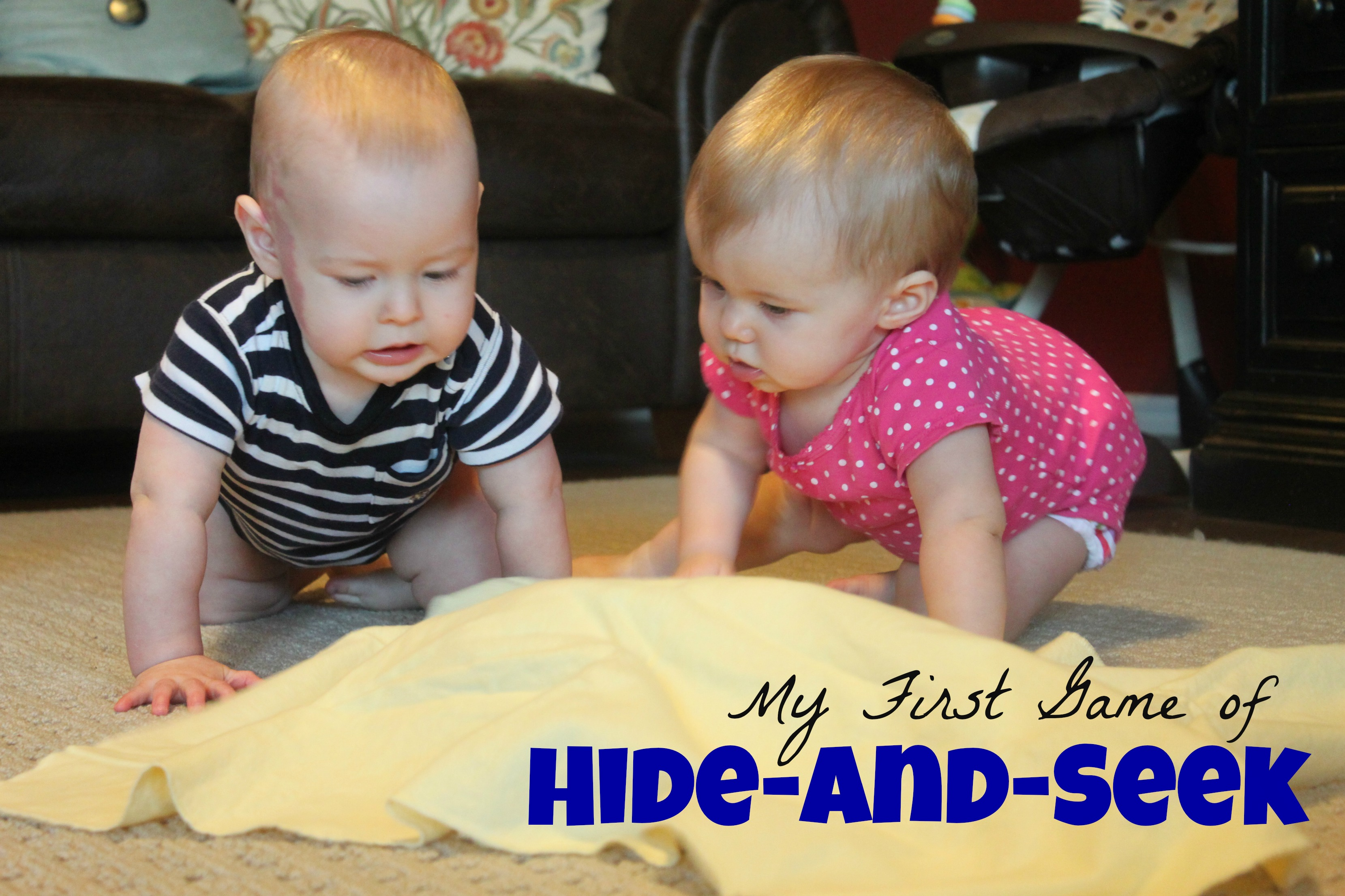 My First Game Of Hide And Seek