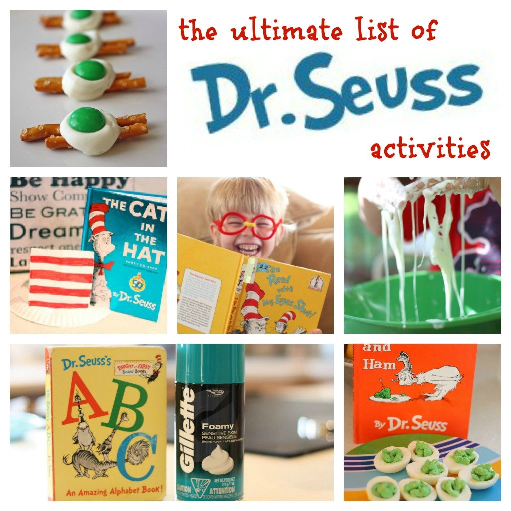 The Ultimate List Of Dr Seuss Activities