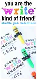 Write kind of friend Valentine