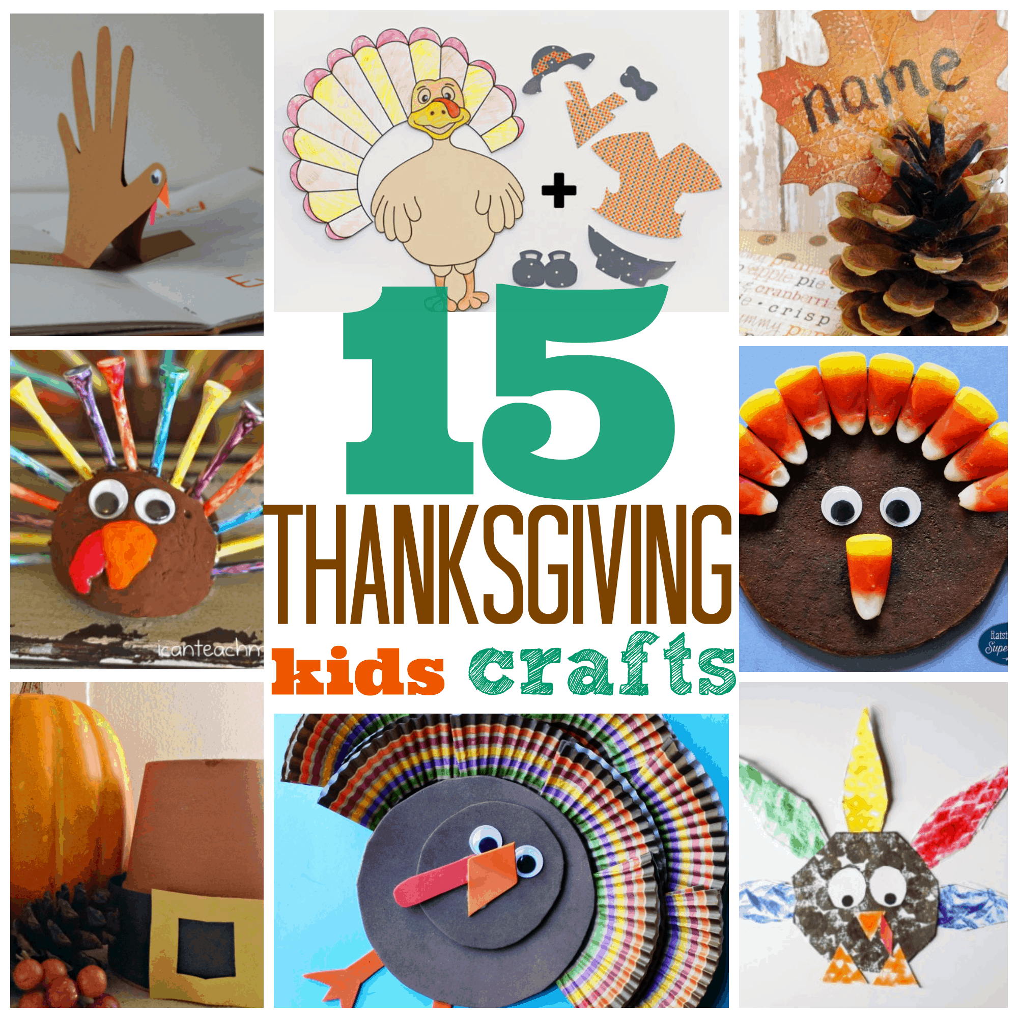 15 Thanksgiving Crafts For Preschoolers And Kindergarten