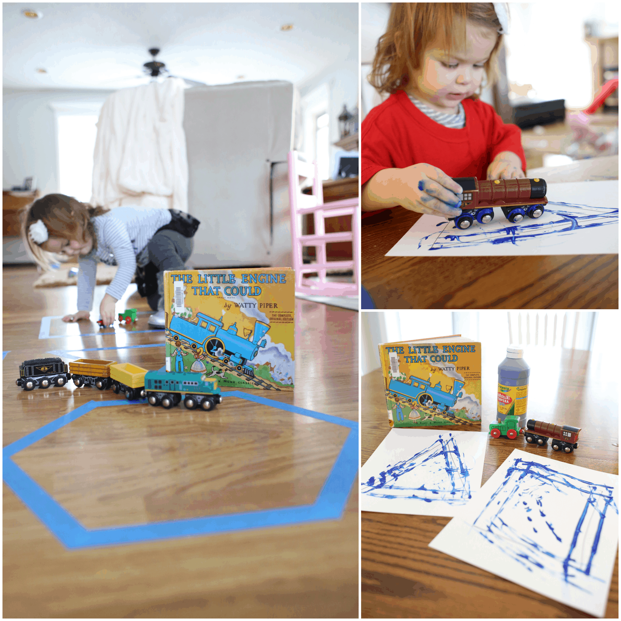 Tracing Shapes With Trains The Little Engine That Could