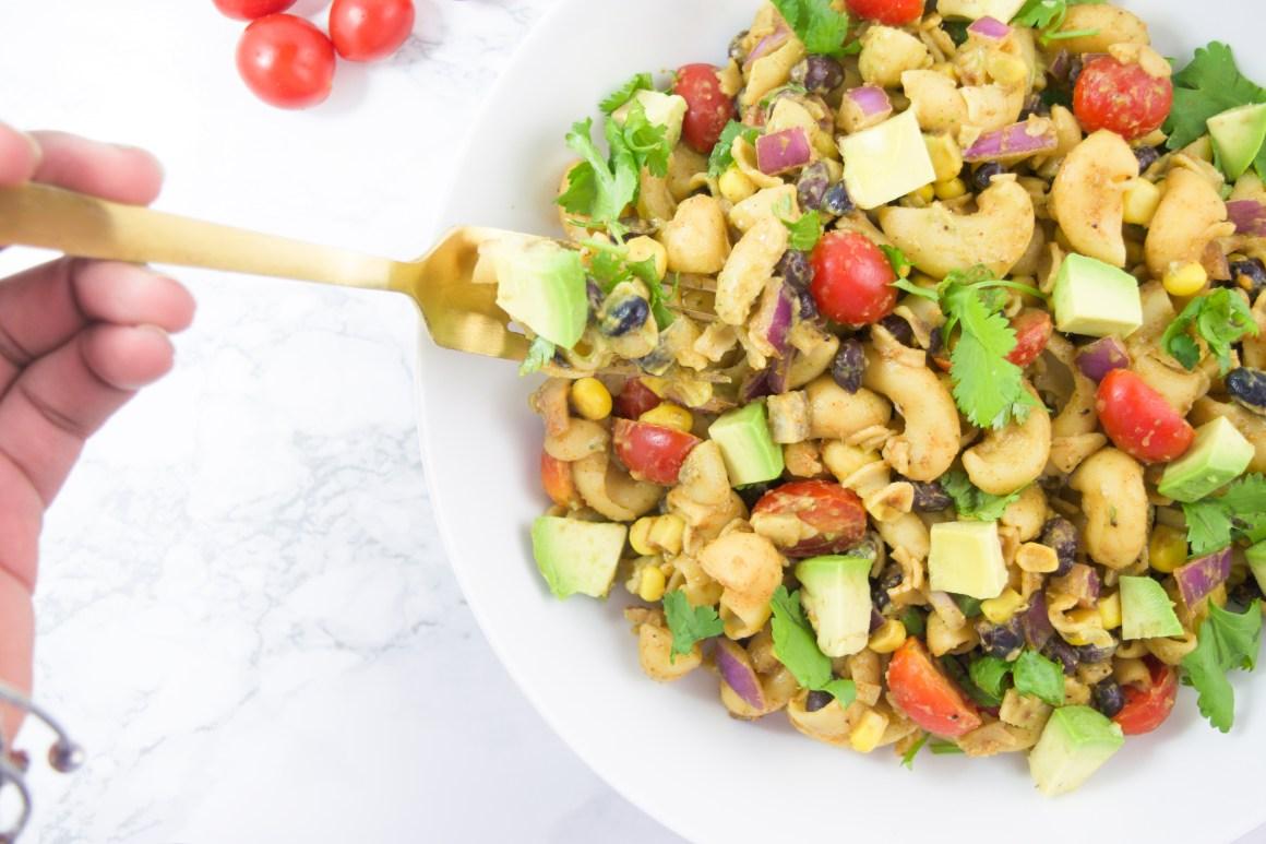 Vegan Taco Pasta Salad