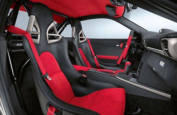 Porsche 911 GT2 RS interieur