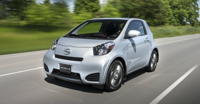 2015 Scion iQ on the Road