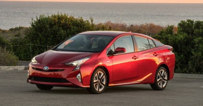 Prius is still the least stolen car