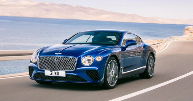 2017 Bentley Continental Racing With More for You