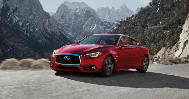 Infiniti Q60, Bargain prices with sophisticated appearances.