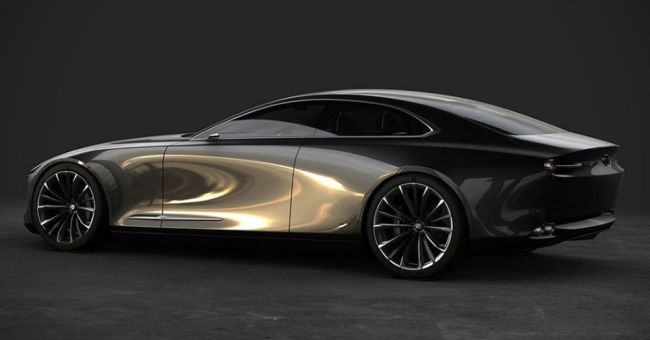 What does design mean for the Mazda Vision Coupe?