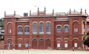 METRO PLUS: Red Fort (anatomy Block) in Madras Medical College in Chennai. Photo: Vino John. (July 16th 2004)