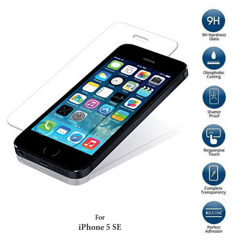 Apple iPhone SE Tempered Glass Screen Protector