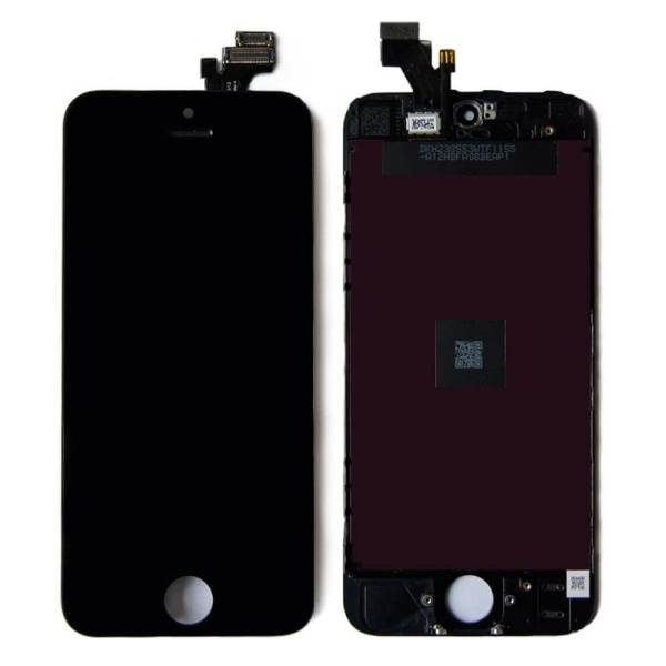 original apple iphone 5 lcd display and touch screen replacement combo black