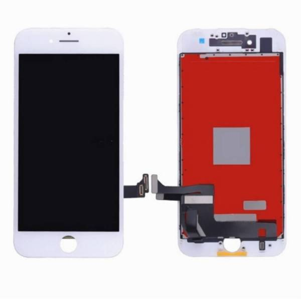 original apple iphone 8 lcd display and touch screen replacement combo white