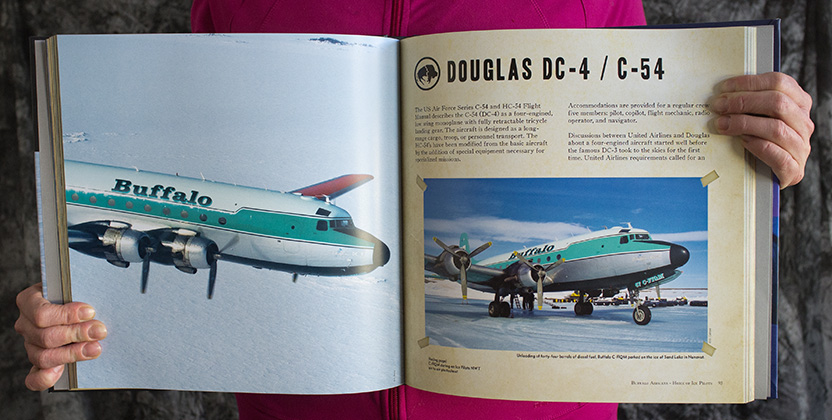 Buffalo Airways - Home of Ice Pilots Sample Page