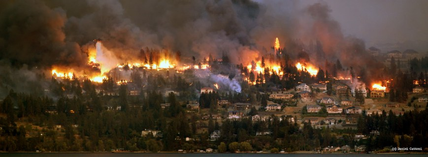 August 22nd, 2003 - 17:52 PST Kelowna Firestorm!