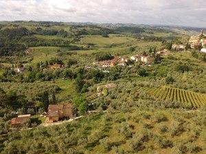 Panorama I Casalini agritourisme en Toscane