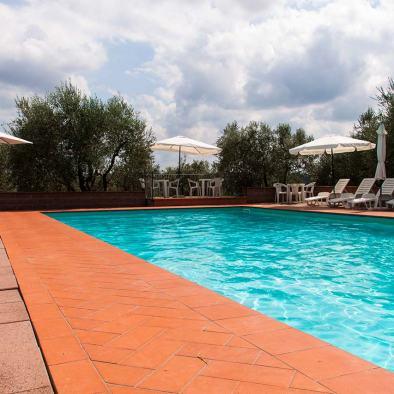 Piscina I Casalini agroturismo en Toscana