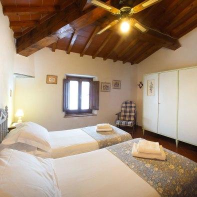 Chambres avec 2 lits ou double
