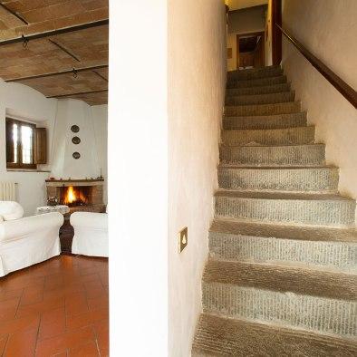 Zugang zum zweiten Stock