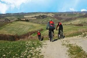 Fahrradverleih I Casalini Bauernhaus in der Toskana