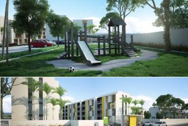 Apartamentos en las afueras de Santiago