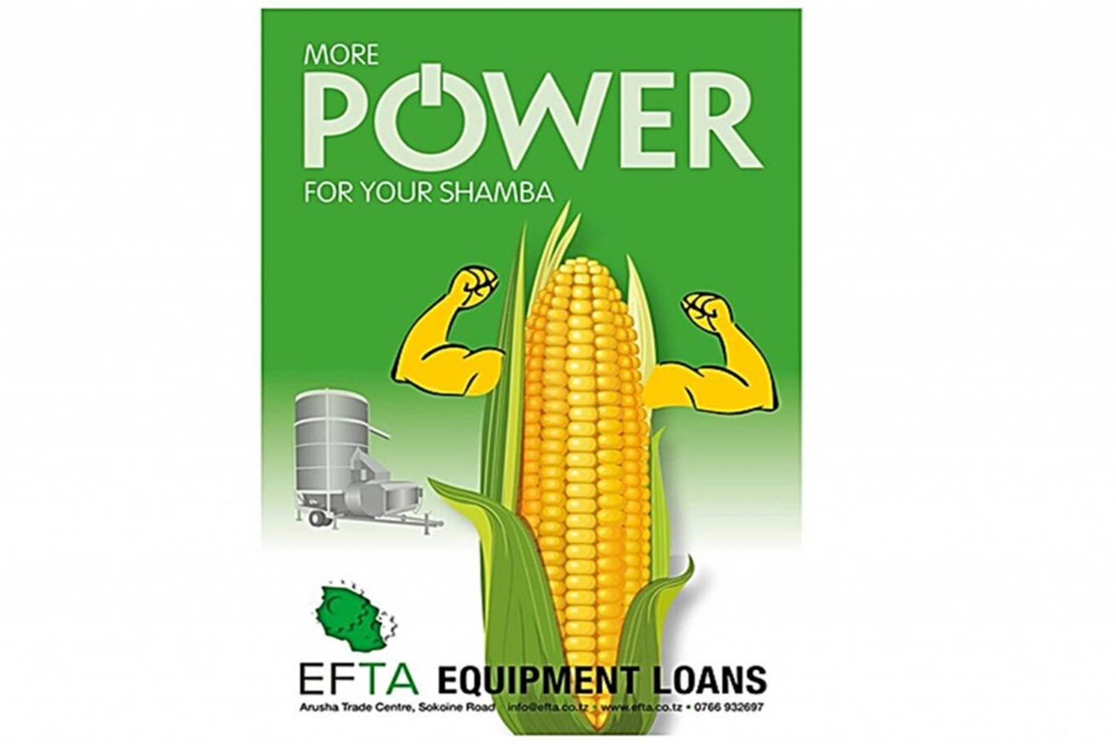power sweetcorn with arms