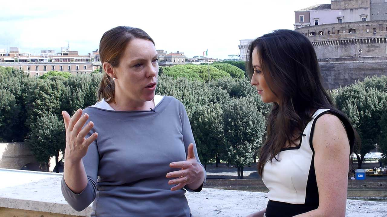 Interview with Emer McCarthy at Vatican Radio