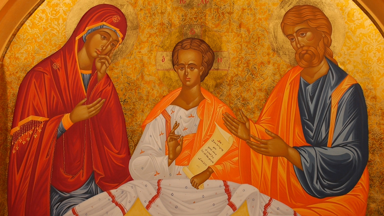 WMOF Icon of the Holy Family – Christmas 2017