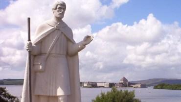 St Patrick Statue Landscape cropped